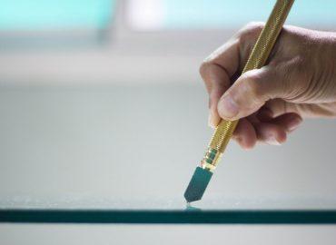 cara memotong kaca